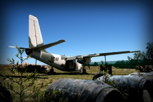USAF aircraft at Paintball Melbourne